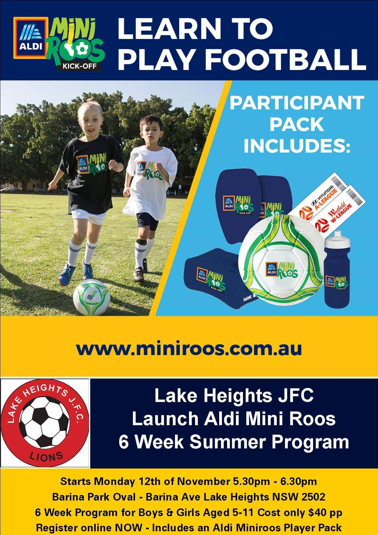 ALDI Summer Program at Lake Heights JFC